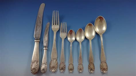 Handmade Sterling Silver Flatware - quot quot by christian heise silver dinner flatware set of