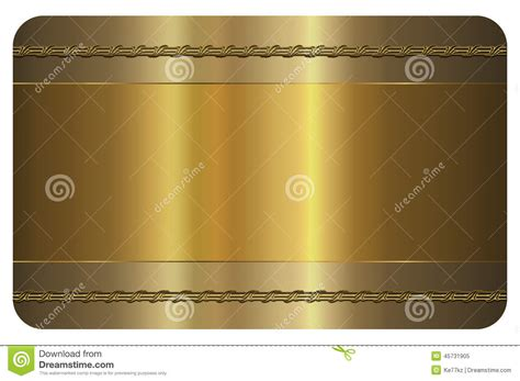 gold pattern card stock business card template gold card stock illustration