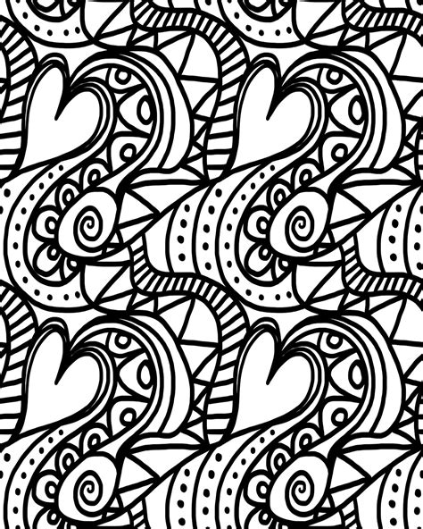music valentine coloring pages adult quot valentine s day quot coloring sheets stage presents