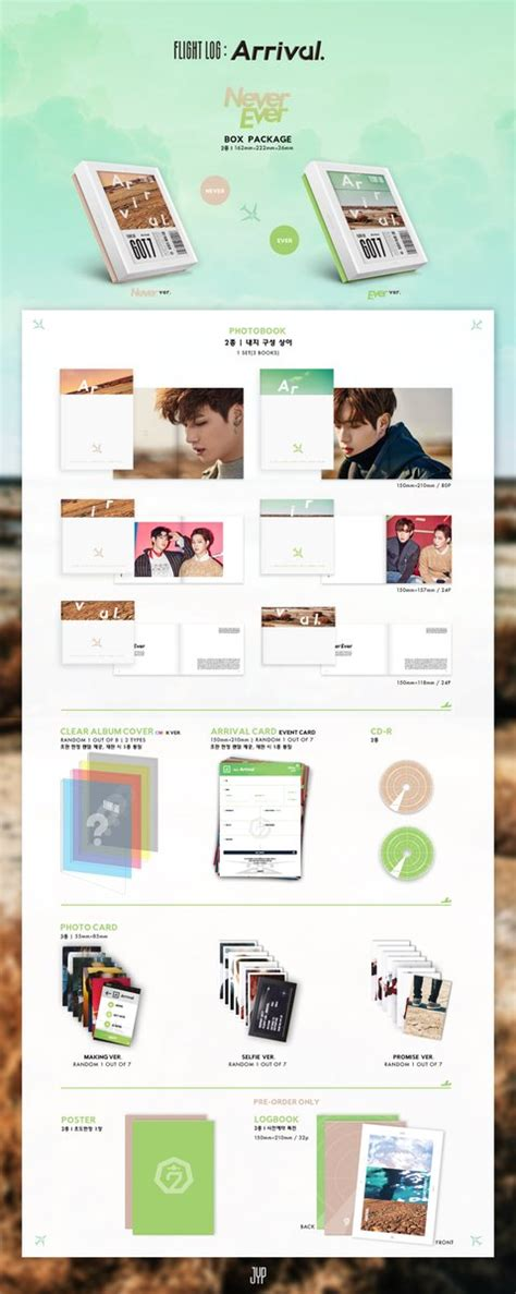 Got7 Arrival Album Logbook update got7 reveals details about everything included in