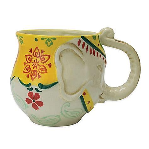 elephant design mug elephant mug bed bath beyond