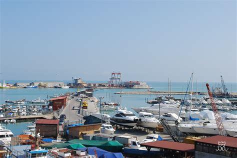 termoli porto porto di termoli molise coast