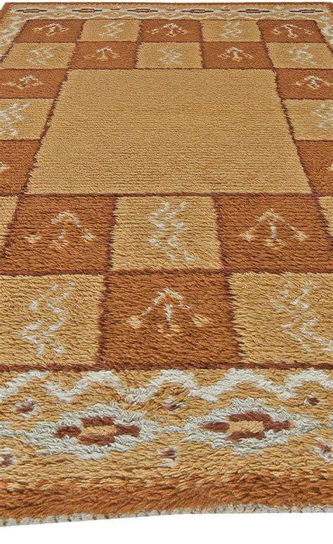 swedish rugs vintage swedish pile rug bb5501 by doris leslie blau