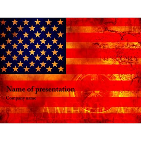 american powerpoint templates free american flag powerpoint template background for