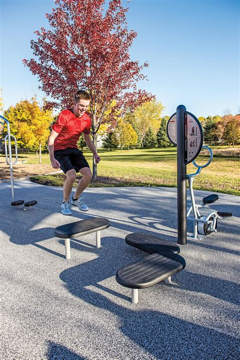 Landscape Structures Fitness Healthbeat 174 Plyometrics Playcreation