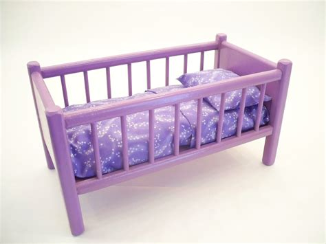 Doll Crib Mattress by Classic Doll Bed Wood Doll Bed American Doll Bed Doll