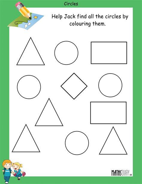Maths Shapes Worksheets