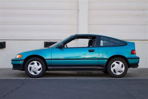 photo image gallery touchup paint honda crx in tahitian green pearl bg28p