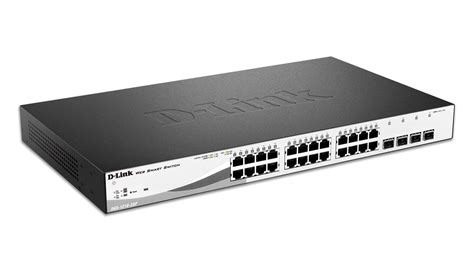 1210 series smart managed 24 port gigabit poe switch with 4 sfp slots dgs 1210 28p d link canada