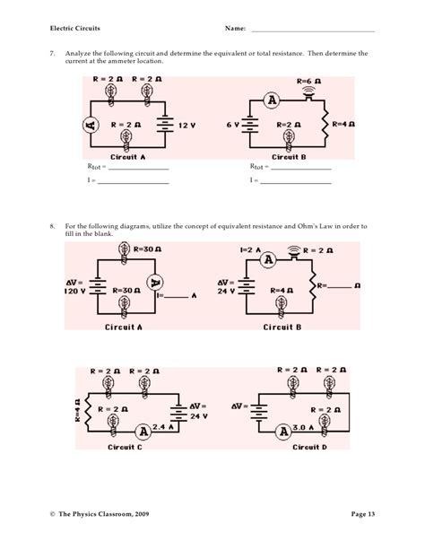 resistors and capacitors ws answers circuits resistors and capacitors worksheet answers 28