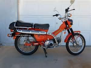 Honda 90 Trail Bike 1976 Honda Trail 90