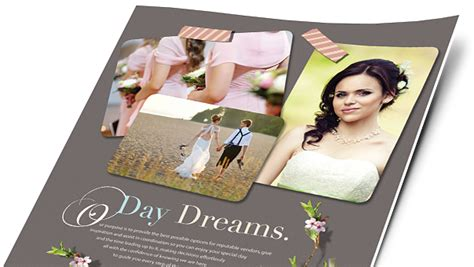 wedding dj brochure templates wedding event planning brochures flyers word