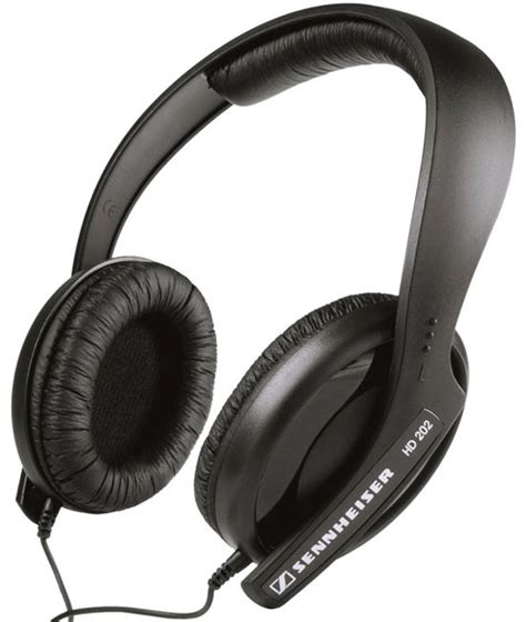 Sennheiser Hd202 Powerful Bass Headset sennheiser hd202 dj headset