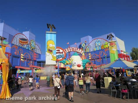 theme park on the simpsons universal studios hollywood simpsons ride www imgkid com