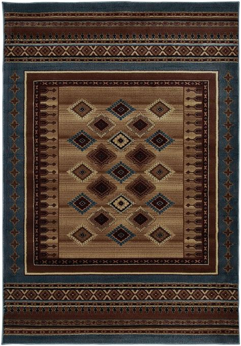 Southwestern Area Rugs Rizzy Rugs Bellevue Southwestern Lodge Area Rug Collection