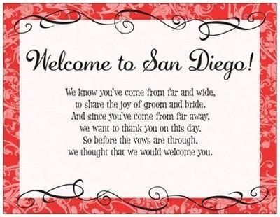 welcome letter for welcome bag template weddings