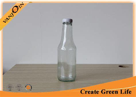 Botol Kaca 350 Ml Glass Bottle Metal Lid Utk Juice Murah food grade 350ml clear glass sauce bottles with metal twist cap