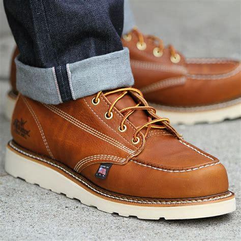Sepatu Cevany Moc Leather Originalsepatukulitsepatukerjasepatuforma 1 thorogood 8 in moc toe boot massdrop shoe lace up boots boots and i