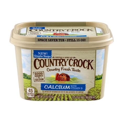 country crock vegetable oil spread calcium with vitamin