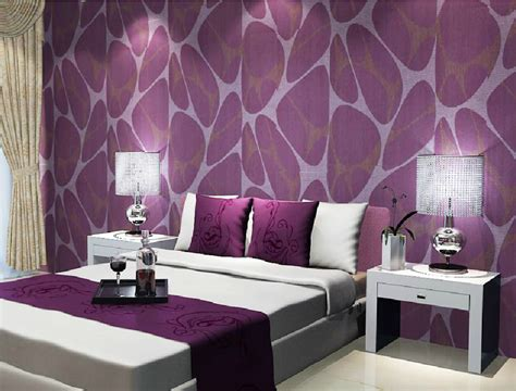 wallpapers for bedrooms walls purple and cream bedroom bedroom purple furniture with brown wallpaper new home