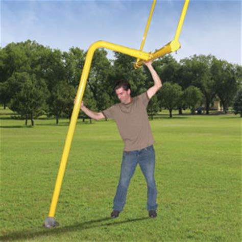 team gridiron complete backyard football goal post