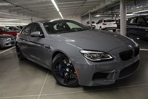 grigio color one of a bmw m6 gran coupe in grigio telesto color