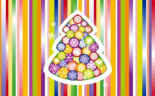 christmas tree colorful wallpapers hd wallpapers