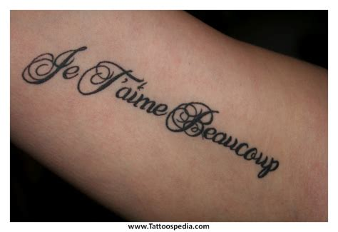 je t aime tattoo je t aime designs 1