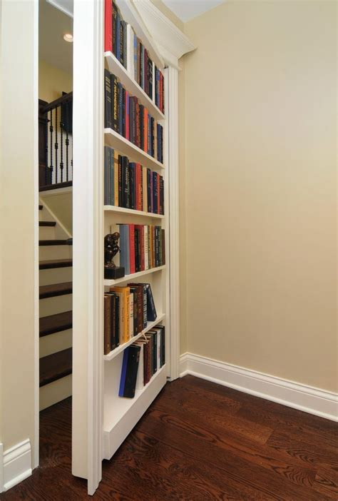 Closet Door Bookcase Bookcase Closet Door Woodworking Projects Plans