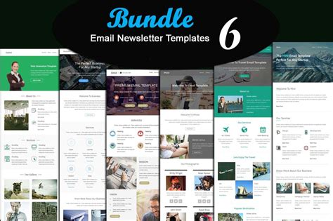 email newsletter templates collection free download