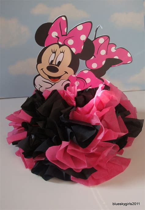minnie mouse centerpieces minnie mouse centerpiece baby shower ideas