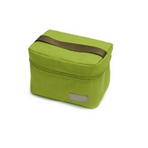 small portable insulated thermal cooler lunch box
