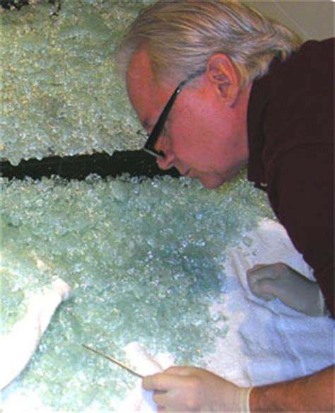 Shattered Shower Door Meshulam Inspecting Shattered Glass Shower Door Enclosure