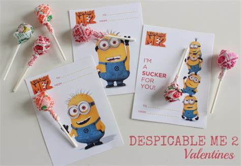 despicable me valentines fab despicable me 2 valentines