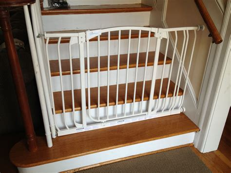 baby gate banister mount image of the best baby gate for top of stairs design that