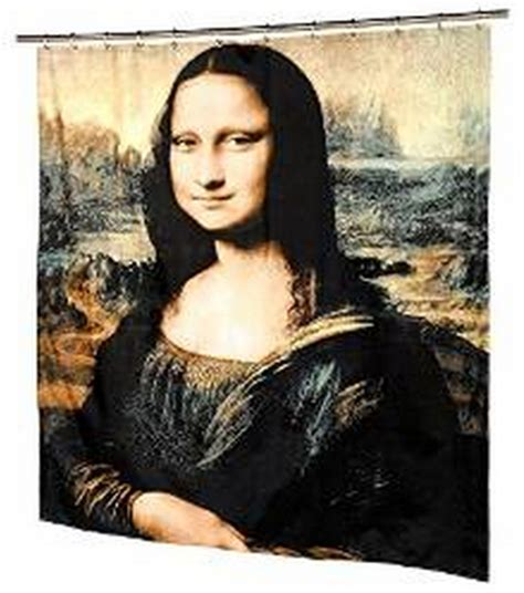 mona lisa shower curtain free shipping mona lisa curtain bath curtain high quality