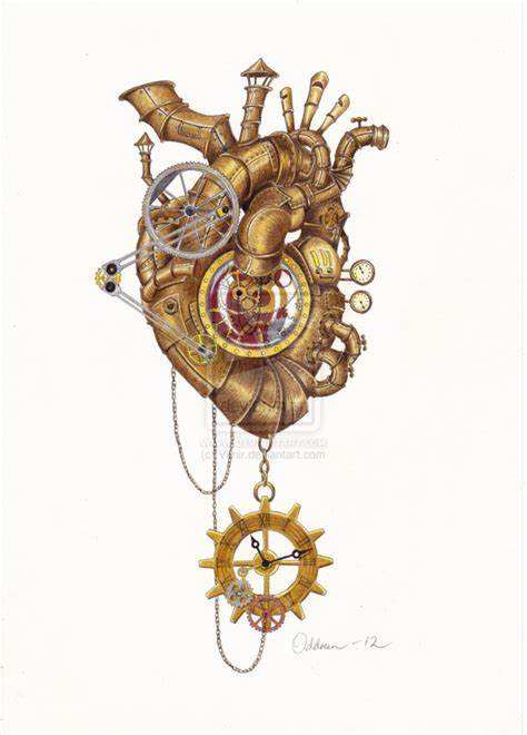 steampunk heart by vitnir on deviantart
