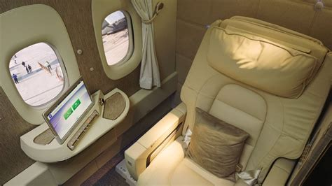 emirates virtual windows inside emirates airlines new first class suites cnbc