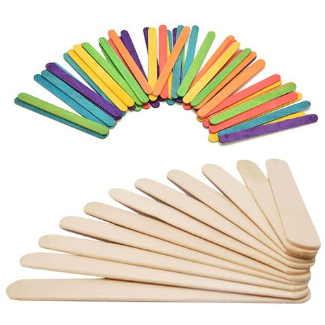 stick crafts for 50pcs wooden popsicle stick crafts