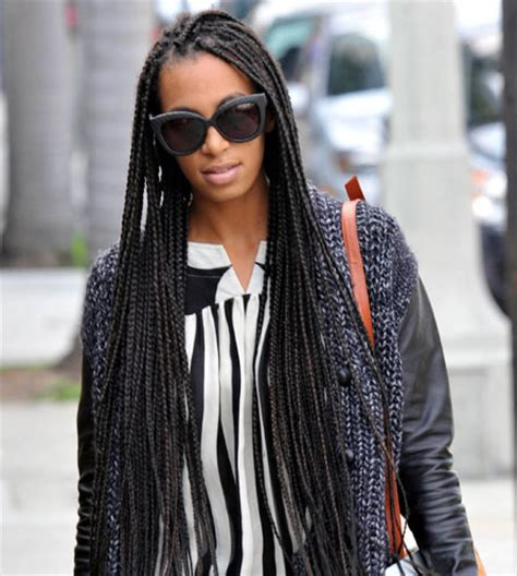 solange knowles braid hairstyles solange knowles box braids smart shoez