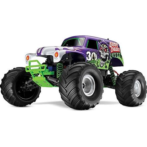 grave digger 30th anniversary monster truck toy traxxas 3602x 30th anniversary grave digger 1 10 scale 2wd