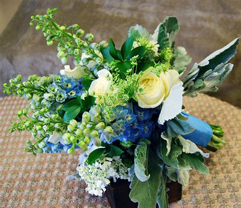 wedding bouquet blue blue and green hydrangea bouquet www pixshark