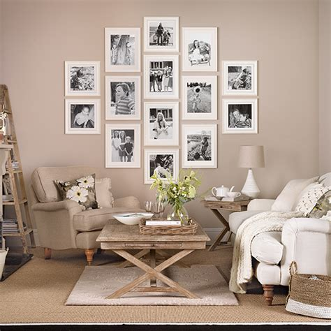 ideal home ideas living room creative ways to hang photos ideal home