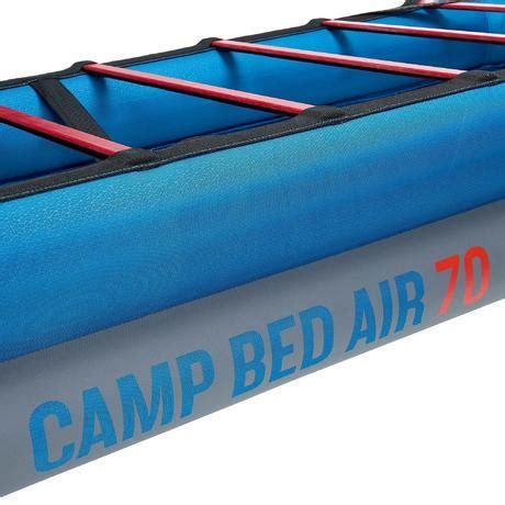 sommier gonflable lit de c c bed air 70 quechua