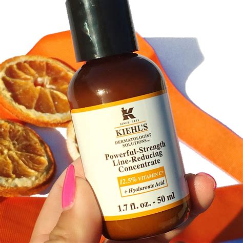 Kiehls Powerful Strength Line Reducing Concentrate Sle kiehl s new powerful strength line reducing concentrate
