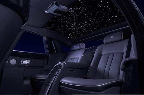 rolls royce wraith headliner rolls royce celestial phantom headliner shows stars from