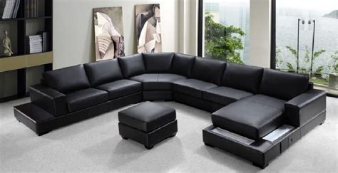 Large Sectional Sofas Oversized Leather Sectional Sofas Sofamoe Info