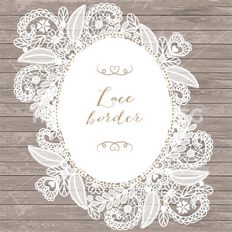 Lace Bordir lace border rustic wedding invitation border frame lace