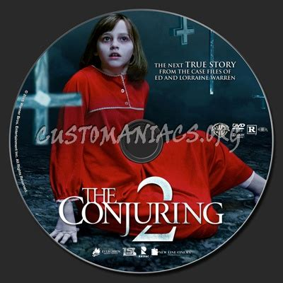 Dvd The Conjuring 2 the conjuring 2 dvd label dvd covers labels by