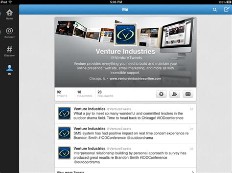twitter ipad layout image gallery twitter profile 2012